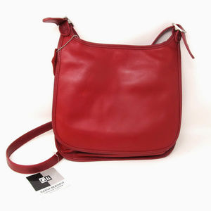 New Giani Bernini Red Crossbody Shoulder Bag NWT
